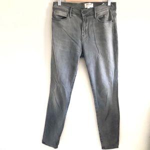 Frame Denim Le High Skinny Grey Skinny Jeans